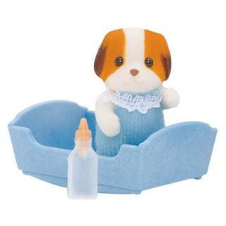 Sylvanian Families - Chiffon Dog Baby, Twins, and Family - Each Set Sold Separately From