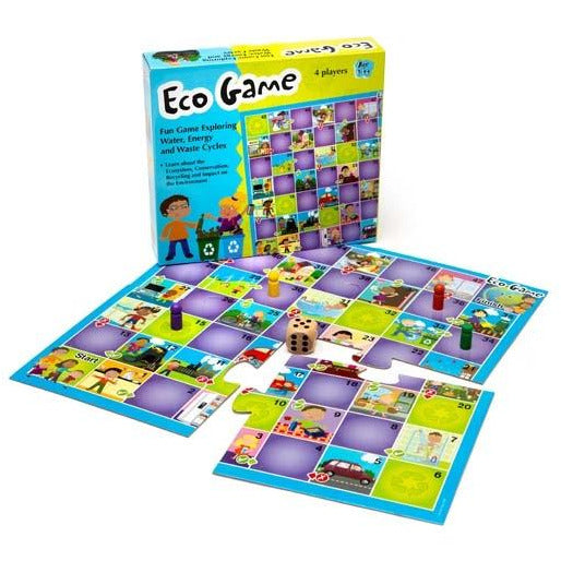 "Eco Game - ""Water, Energy and Waste Cycles"""