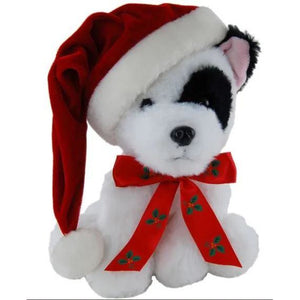 Dog Buddy Terrier or Husky Christmas Dogs 18cm