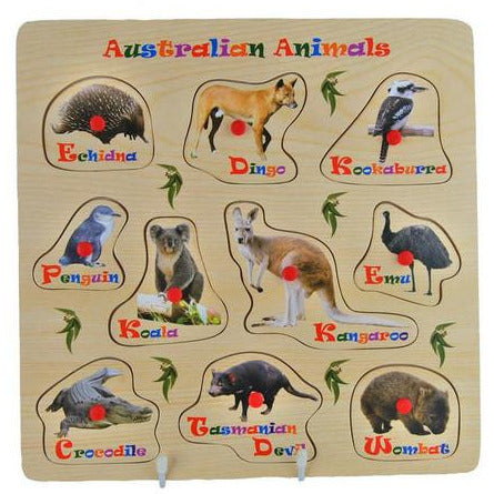 Image of: Primary Australian Animals Puzzle Wooden Buy From Creations australia Jeans Home And Family Store Australian Animals Puzzle Wooden Jeans Home And Family Store