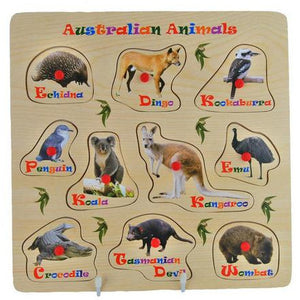 Australian Animals Puzzle Wooden - buy from J G Creations (Australia)