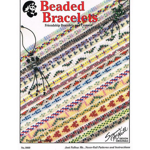 Beaded Bracelets - Friendship Bracelets and Crosses for Beginner Beading - Leaflet