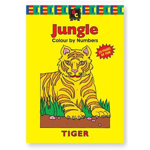 Colouring In Books - From Educational Colours Range - buy from J G Creations (Australia)