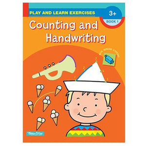 Play and Learn Exercises - Counting and Handwriting