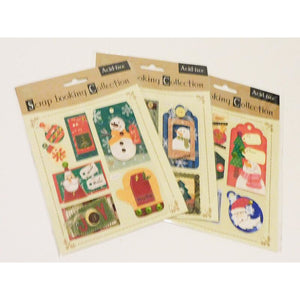 Scrapbooking Collections - Scrapbooking And Paper Craft Embellishments Christmas Theme
