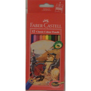 Faber Castell - Classic Coloured Pencils - 12 Pack
