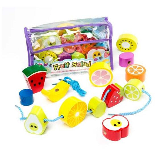 Fruit Salad Threading Beads