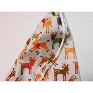 Colourful Reindeer Print Gift Bags in a Range of Sizes