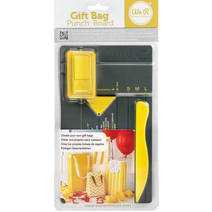 We R Memory Keepers - Gift Bag Punch Board