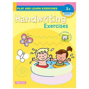 Play & Learn Exercises - Handwriting Exercises Workbooks 1-4 (Sold Individually) - buy from J G Creations (Australia)