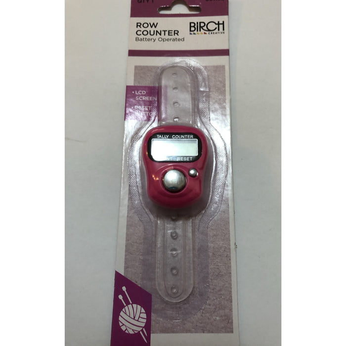 Row Counter - Battery Operated - Birch