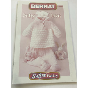 Bernat Books Baby Love - Softee Baby Knitting & Crochet Patterns 530109 - buy from J G Creations (Australia)