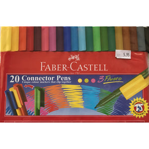 Faber Castell Connector Pens 20pk