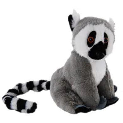Lemur 20cm Stuffed Animal with Hanging Tail