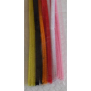 Craft - Mixed Colour Chenille Sticks - 12 Pieces
