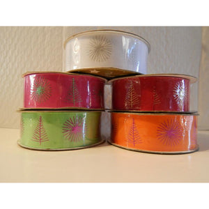 Beautiful Christmas Themed Ribbon 3 Metre Pack - Vandoros - buy from J G Creations (Australia)