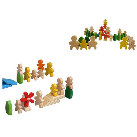 PLAYME Family Domino - Wooden Toy