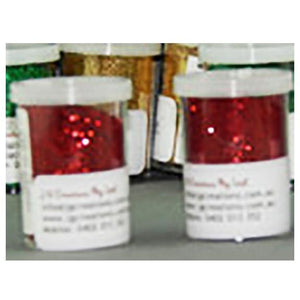 Glitter for craft in a range of colours