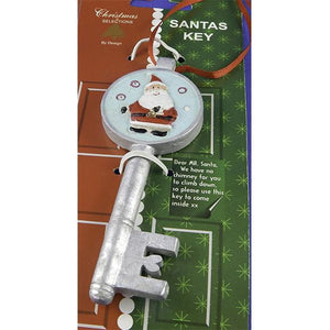 Santa Key - Let's Santa in If you don't have a Chimney! Bonus Letter!