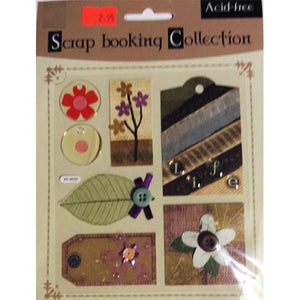 Scrapbooking Collections - Scrapbooking And Paper Craft Embellishments Nature Theme