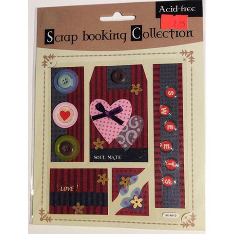 Scrapbooking & Papercraft  Love Themed Embellishments