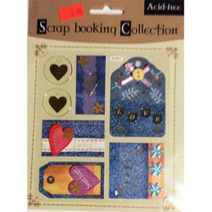 Scrap booking Collection - Scrapbooking & Papercraft  Love Themed Embellishments