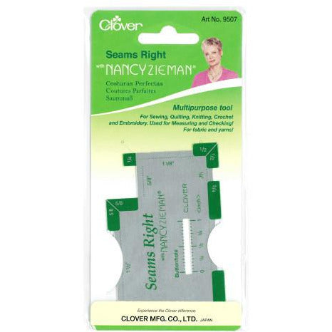 Clover Seams Right - Multipurpose Tool - buy from J G Creations (Australia)