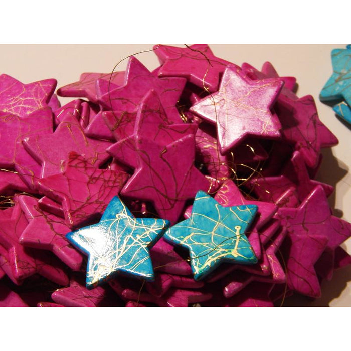 Decorative Hanging Stars Sold in Sets of 10