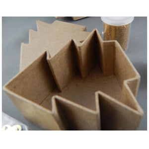 Christmas Tree Shaped Paper Mache Boxes with Lids - buy from J G Creations (Australia)