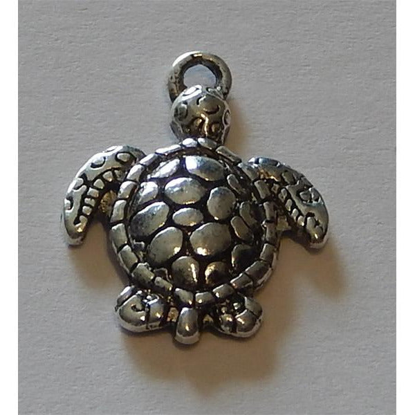 Charms - Silver Toned Sea Life Themes - buy from J G Creations (Australia)