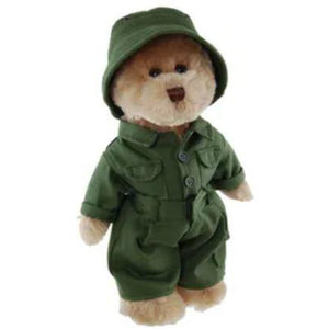 Vietnam Army Bear Plush 30cm - buy from J G Creations (Australia)