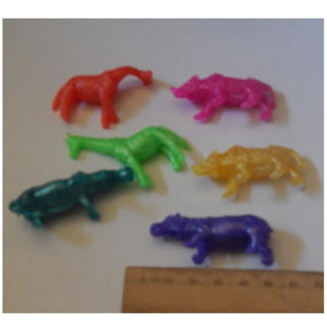 Stretchy Wild Animals Pack 6 Mixed