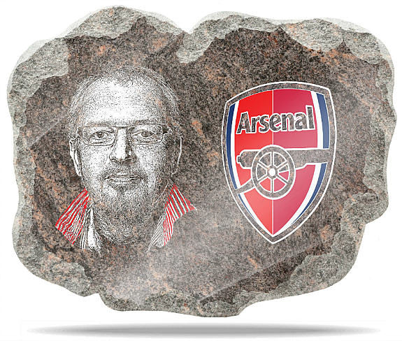 Arsenal FC Wall Plaque