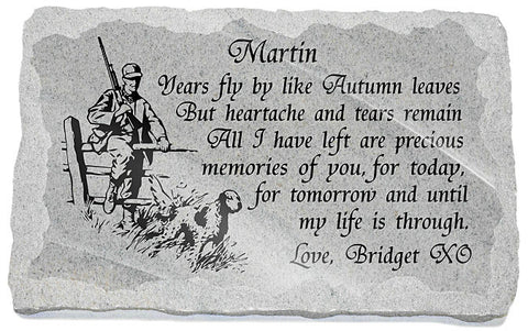 Hunter memorial poem