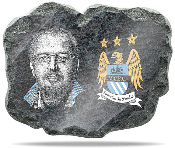 Manchester City Wall Plaque