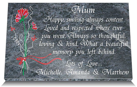 memorial gifts for loss of Mum
