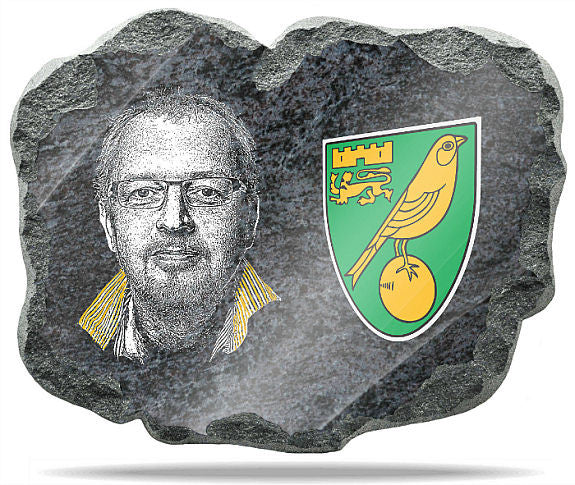 Norwich FC Wall Plaque