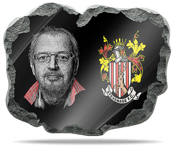 Stevenage FC Wall Plaque