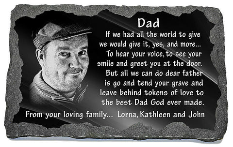 Unique memorial gifts for loss of father
