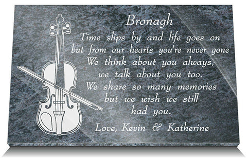 Memorial gifts for music teachers