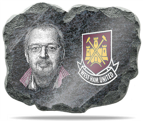 West Ham United FC Wall Plaque