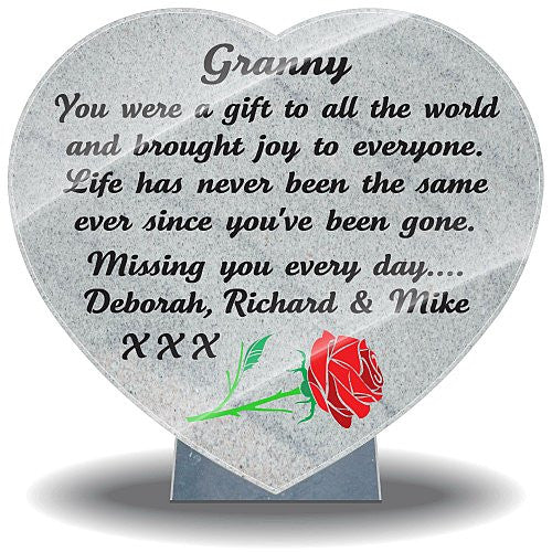 Gifts for loss of Grandmother