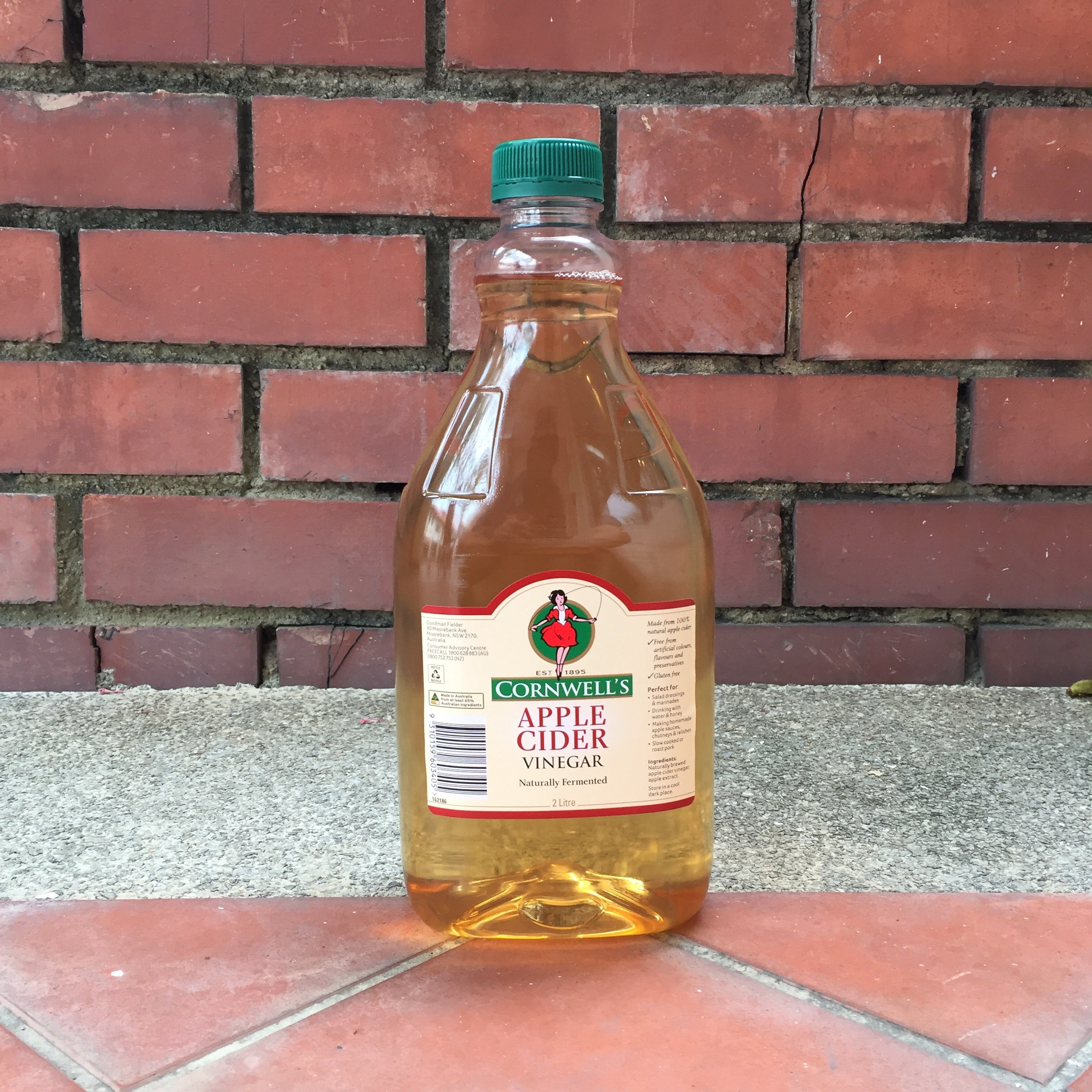 Cornwell S Apple Cider Vinegar 2 Litre The Barkery Singapore