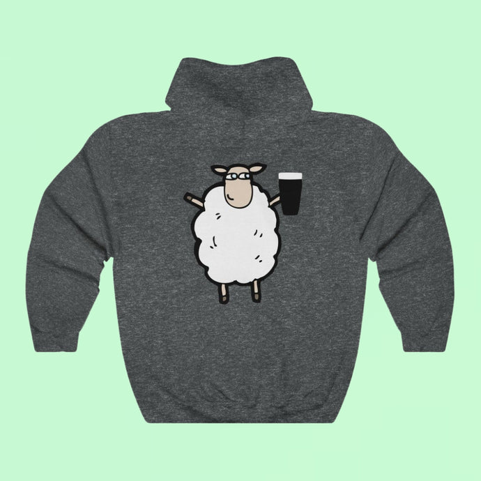 Seán The Thirsty Sheep - Premium Irish Hoodie-Two Thirds Irish