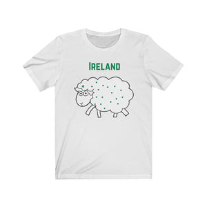 Ireland Sheep - Short-Sleeve Irish T-Shirt
