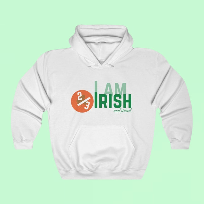 I am 2/3 Irish & Proud - Premium Irish Hoodie-Two Thirds Irish