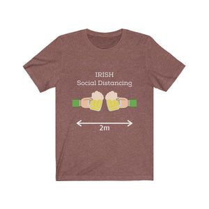 Irish Social Distancing - Short-Sleeve Irish T-Shirt