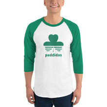 Load image into Gallery viewer, Paddidas - 3/4 sleeve Irish shirt