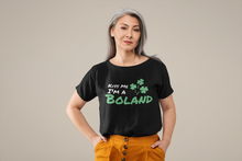 Load image into Gallery viewer, Kiss Me I'm A Boland - Short Sleeve Irish T-Shirt