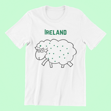 Load image into Gallery viewer, Ireland Sheep - Short-Sleeve Irish T-Shirt